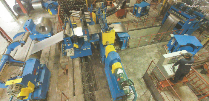 Planta Industrial de tubos y perfiles de acero Almarza